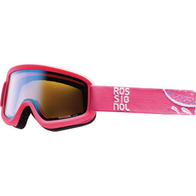 Rossignol Ace Goggles Cylindrical Women, Flower Pink